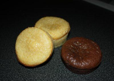 Fondant au chocolat (blanc & noir)