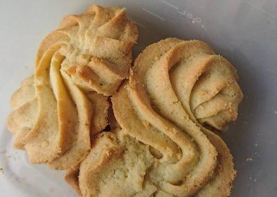 Biscuits à la farine de maïs